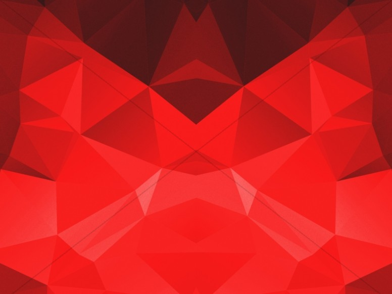 Red Polygon Church Worship Background