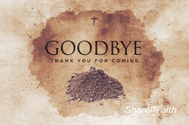Lent Season Goodbye Church Motion Graphic