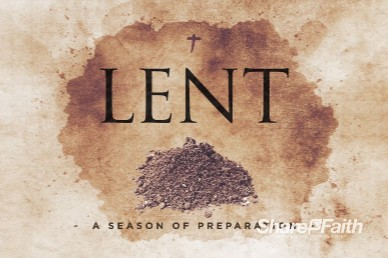 Lent Season Church Motion Graphic