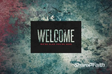 Trusting God Welcome Church Motion Graphic