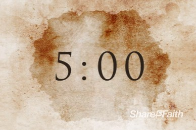 Lent Season Church Countdown Timer