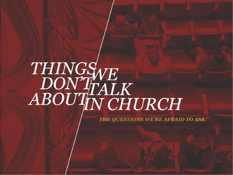 Things We Don't Talk About Church PowerPoint