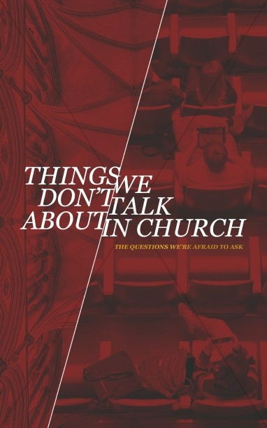 Things We Don't Talk About Church Bulletin