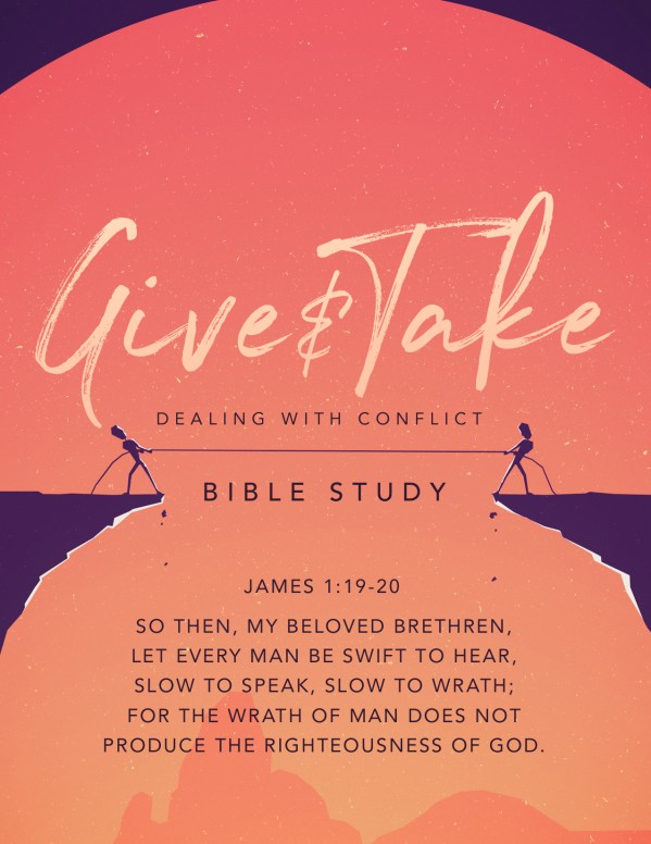Give And Take Church Flyer