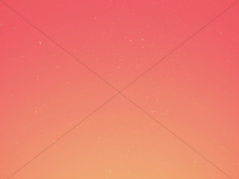 Orange Gradient Church Worship Background
