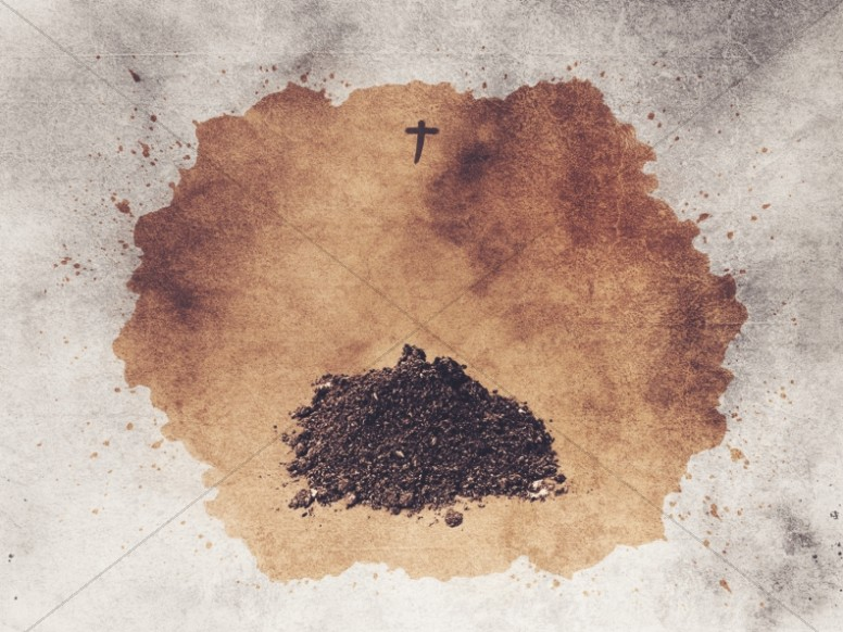 Lent Season Ash Wednesday Worship Background