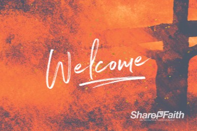 Good Good Father Welcome Church Motion Graphic