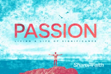 Passion For God Service Bumper Video