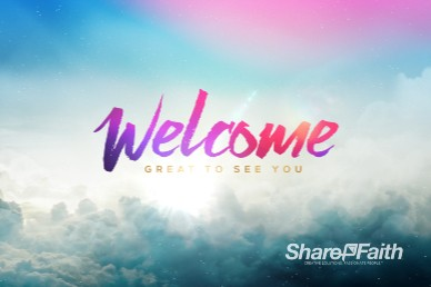 Relentless Grace Welcome Church Motion Graphic