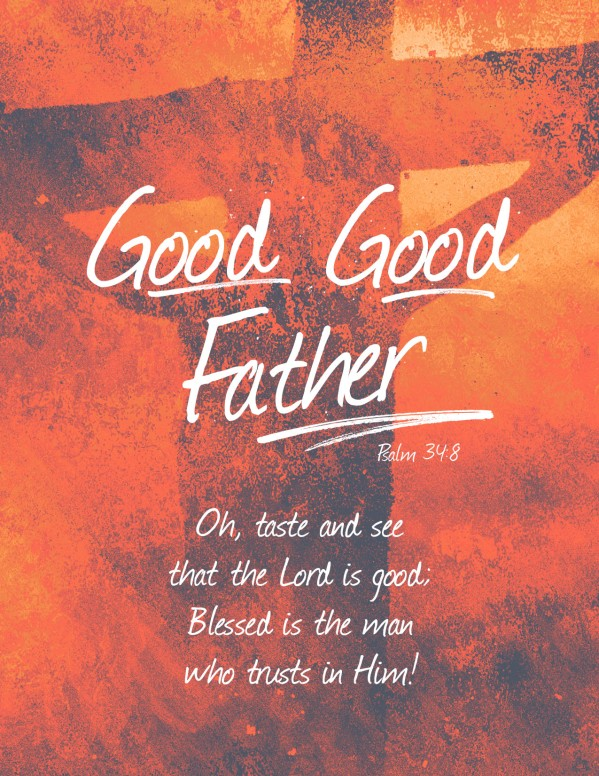 Good Good Father Church Flyer