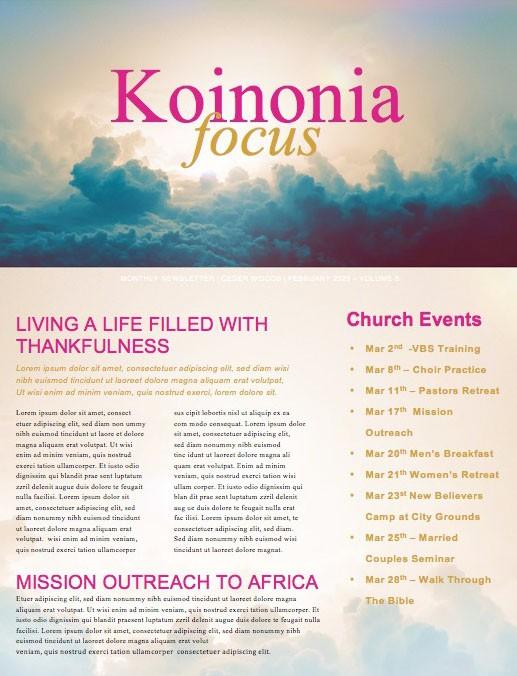 Relentless Grace Church Newsletter
