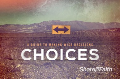 Making Wise Choices Title Video Loop