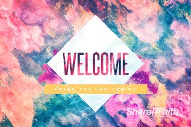 Purpose of Life Welcome Church Motion Graphic