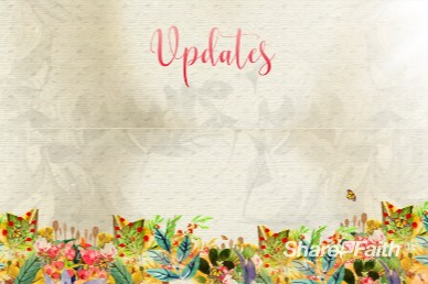 Spring Has Sprung Announcements Church Motion Graphic