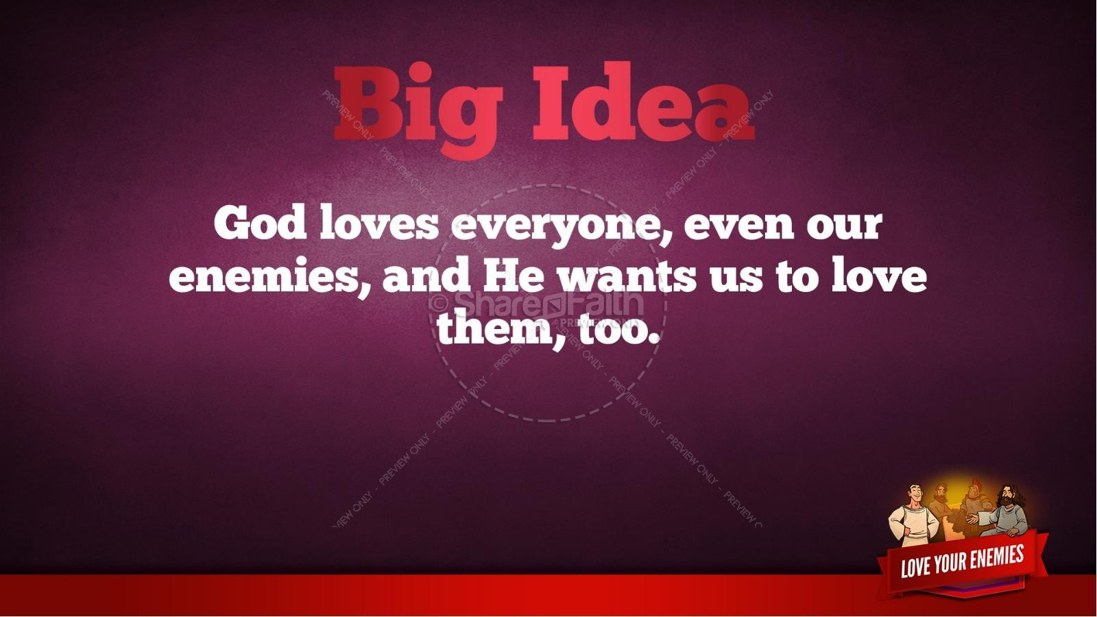 Matthew 5 Love Your Enemies Kids Bible Lesson