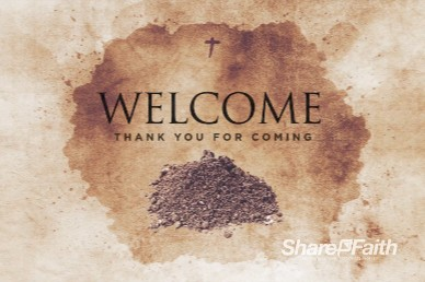 Lent Season Welcome Church Motion Graphic