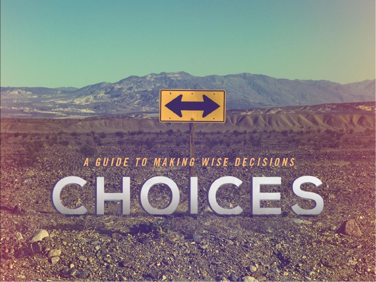Making Wise Choices Sermon PowerPoint