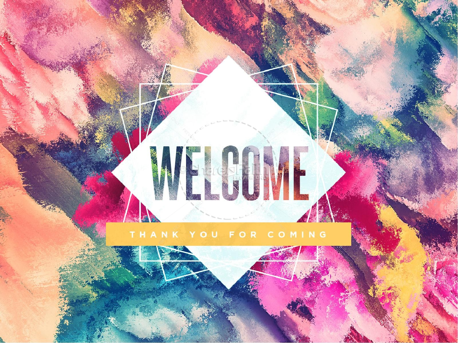Church Welcome Powerpoint Slides – HD Wallpapers