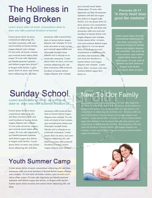 Making Wise Choices Church Newsletter