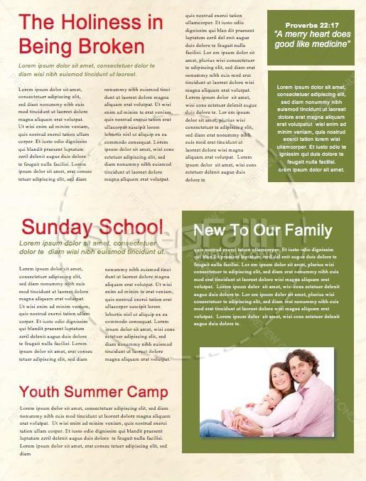 Spring Has Sprung Church Newsletter