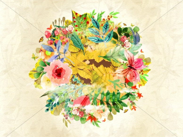 Spring Has Sprung Floral Worship Graphic