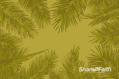 Palm Sunday Worship Motion Background