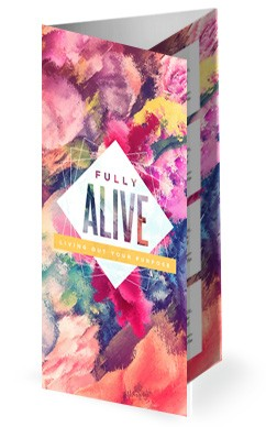 Purpose of Life Church Trifold Bulletin