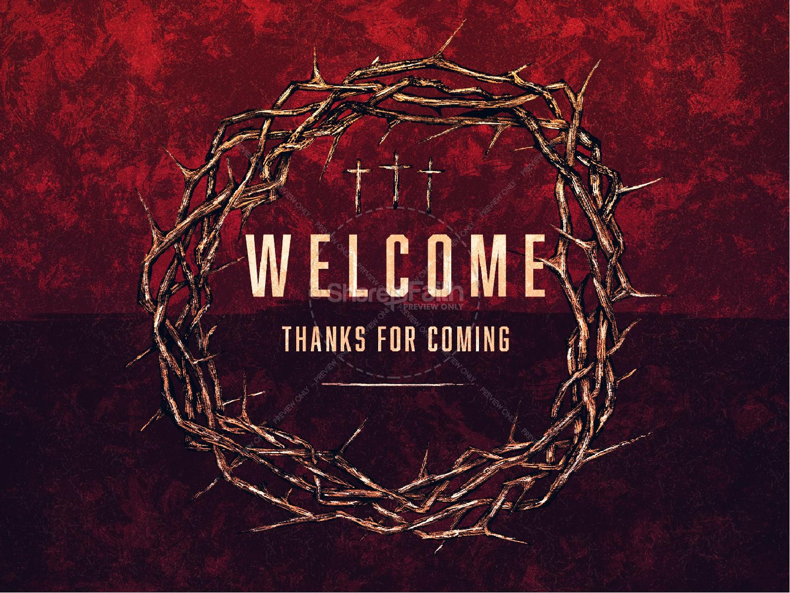 Good Friday Cross and Crown Church PowerPoint