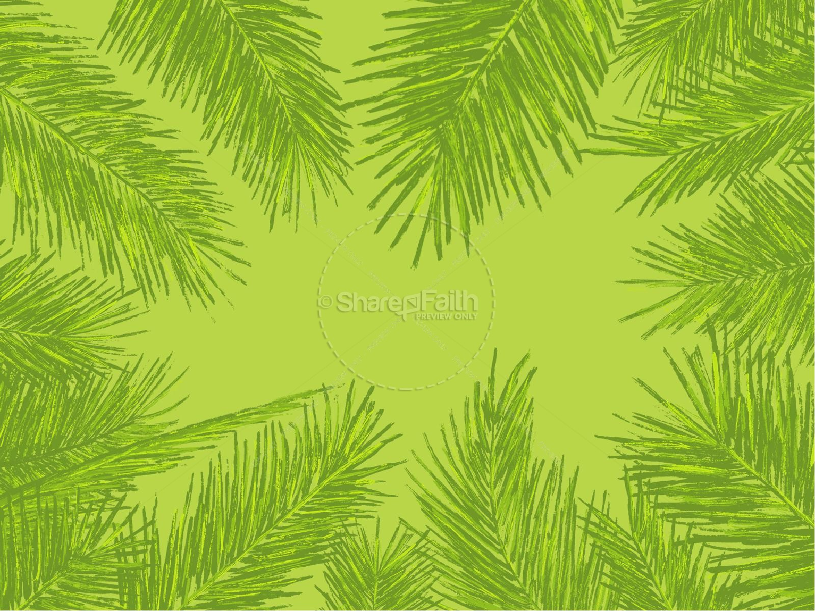 Palm Sunday Sermon PowerPoint