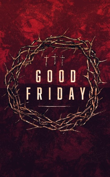 Good Friday Cross and Crown Church Bulletin