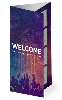 Be Lifted High Church Trifold Bulletin