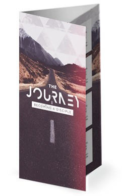 Journey With Christ Church Trifold Bulletin