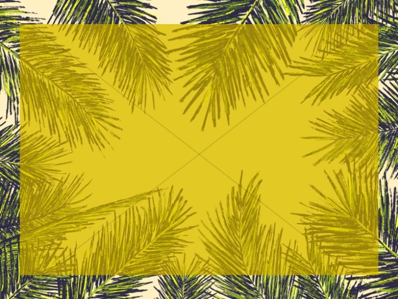 Palm Sunday Christian Background Image