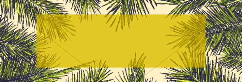 Palm Sunday Church Website Banner