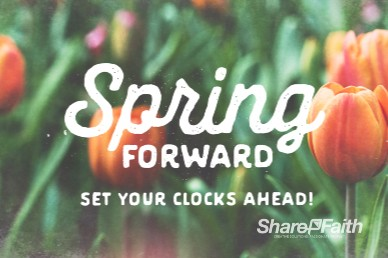 Spring Forward Tulip Service Bumper Video