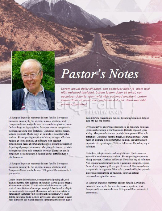 Journey With Christ Church Newsletter