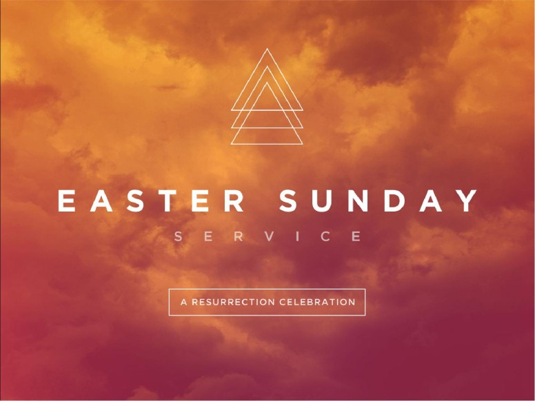 Easter Sunday Service PowerPoint