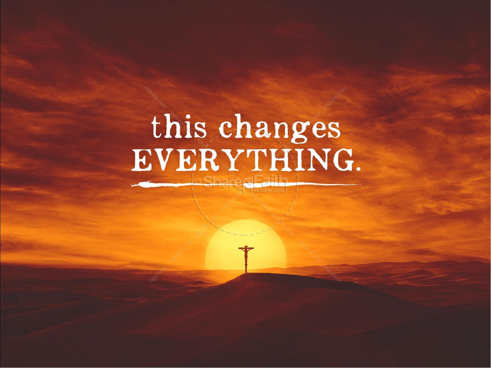 This Changes Everything Sermon PowerPoint