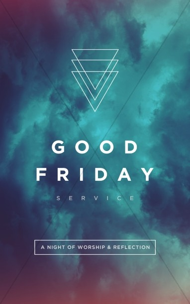Good Friday Service Bulletin Cover