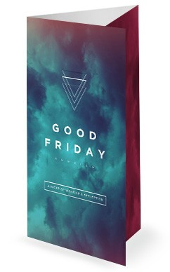 Good Friday Service Trifold Bulletin
