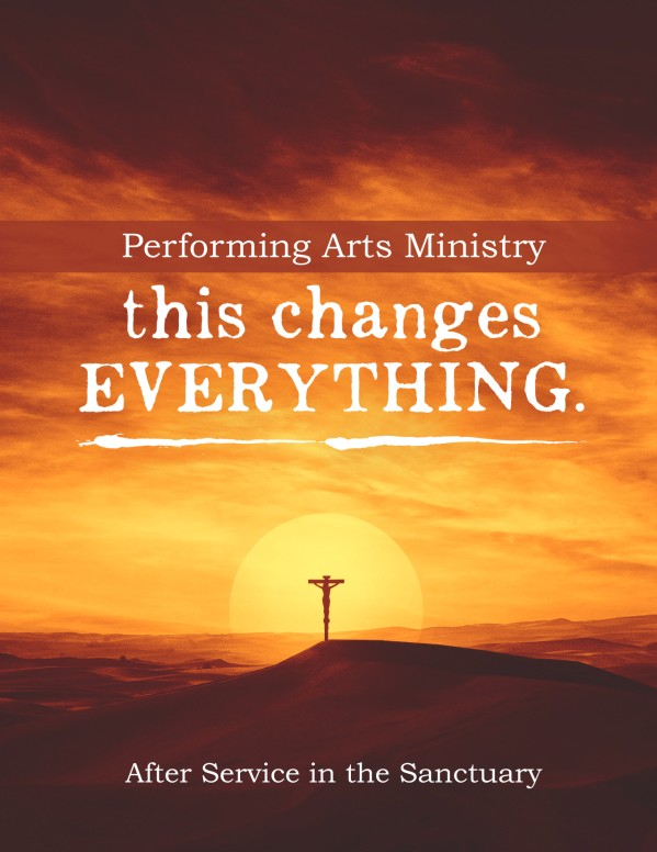 This Changes Everything Sermon Series Flyer