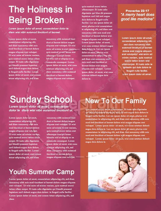 Easter Sunday Service Church Newsletter | page 2