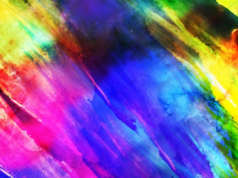 Easter Paint Christian Worship Background