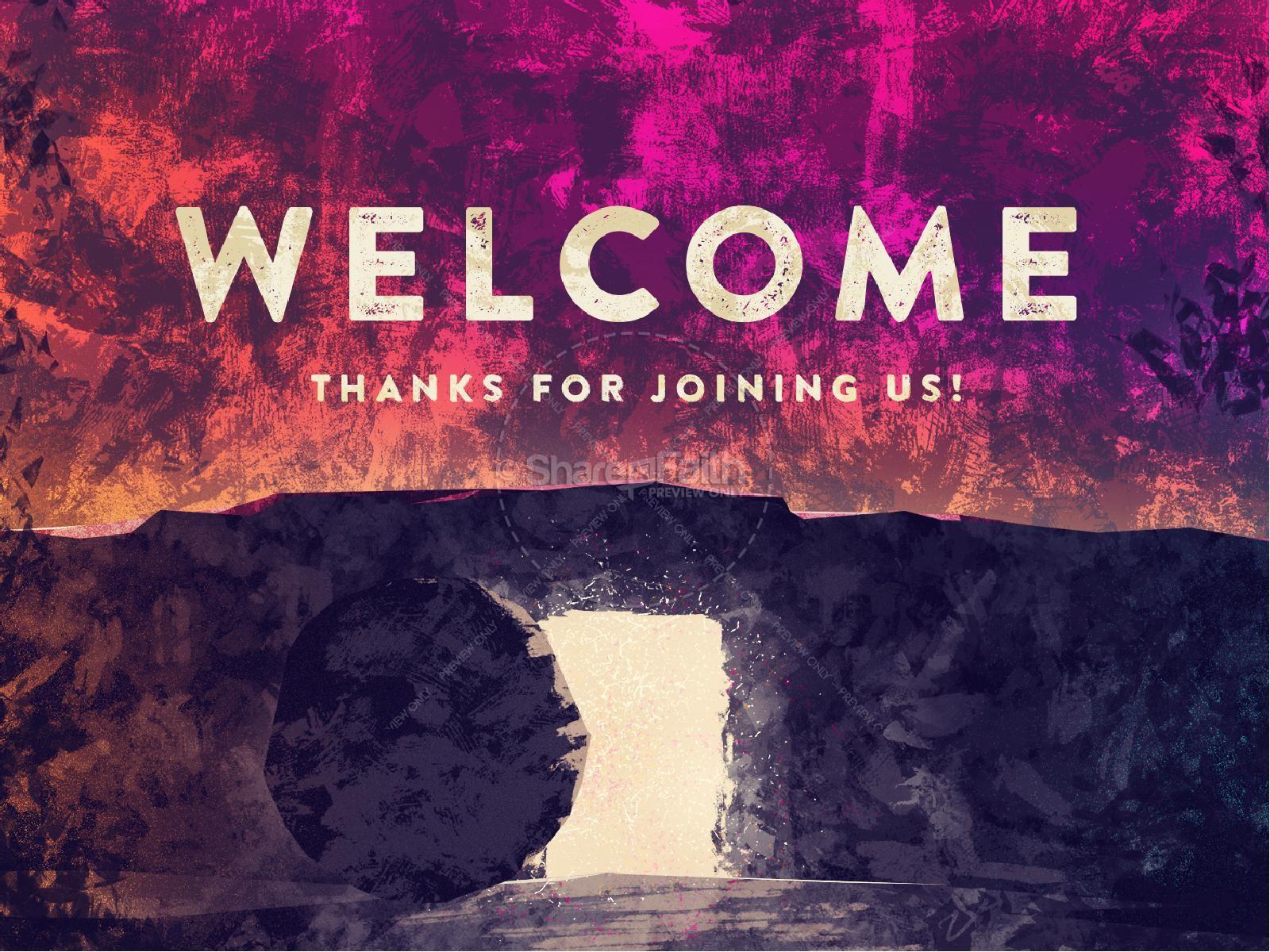 Empty Tomb Of Jesus Easter PowerPoint | slide 2