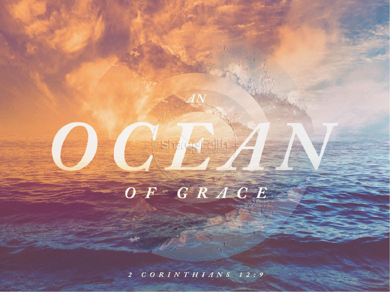 Ocean Of Grace Sermon PowerPoint