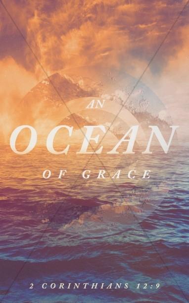 Ocean Of Grace Sermon Series Bulletin