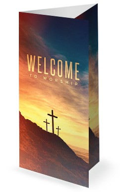 The Cross of Christ Church Trifold Bulletin