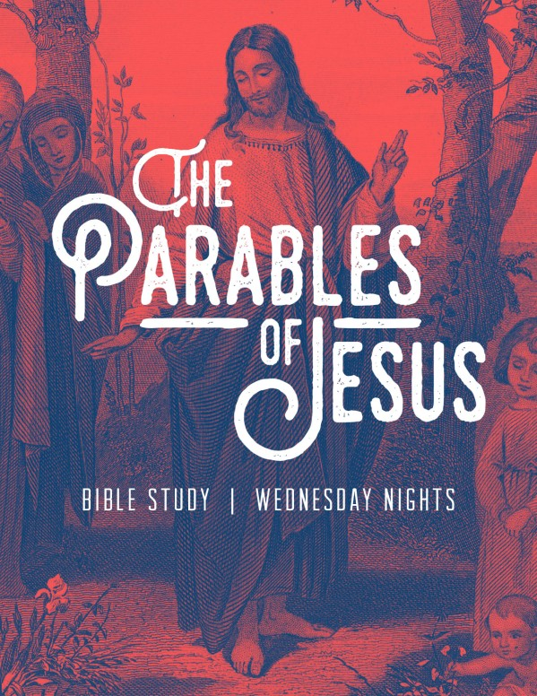 Parables of Jesus Christ Church Flyer