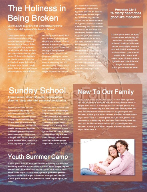 Ocean Of Grace Church Newsletter