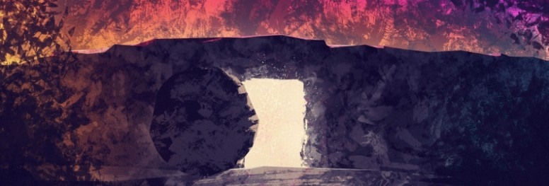 Empty Tomb Of Jesus Easter Website Graphic